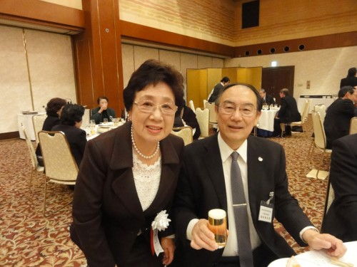竜田和子女性部連合会長・岩田長太郎天理支部長