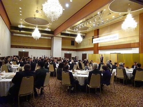 来賓・招待者等約140名が出席