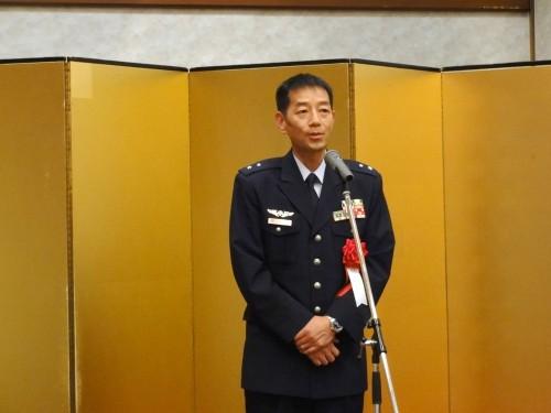 航空自衛隊幹部候補生学校長 井上空将補