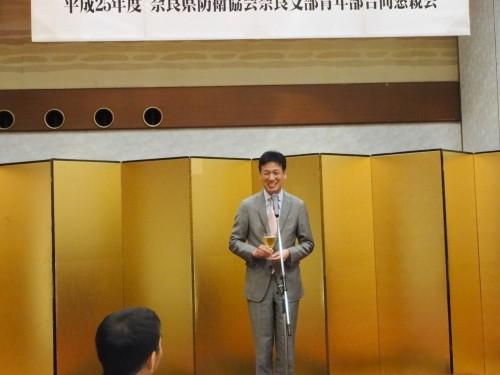 県防衛協会 伊藤隆司副会長
