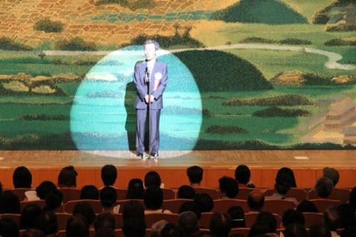 主催者代表挨拶 前田 武 当会会長