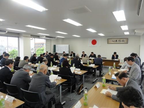 理事会(会議の様子①)