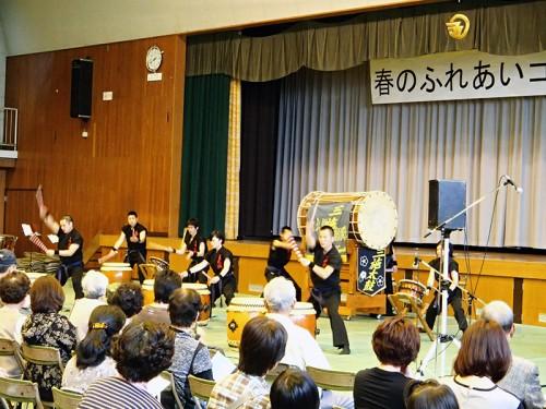 勇壮で力強い京都三施太鼓(大久保駐屯地)の演奏