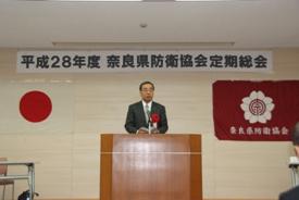 奈良県知事代理奈良県危機管理監 長岡雅美 様